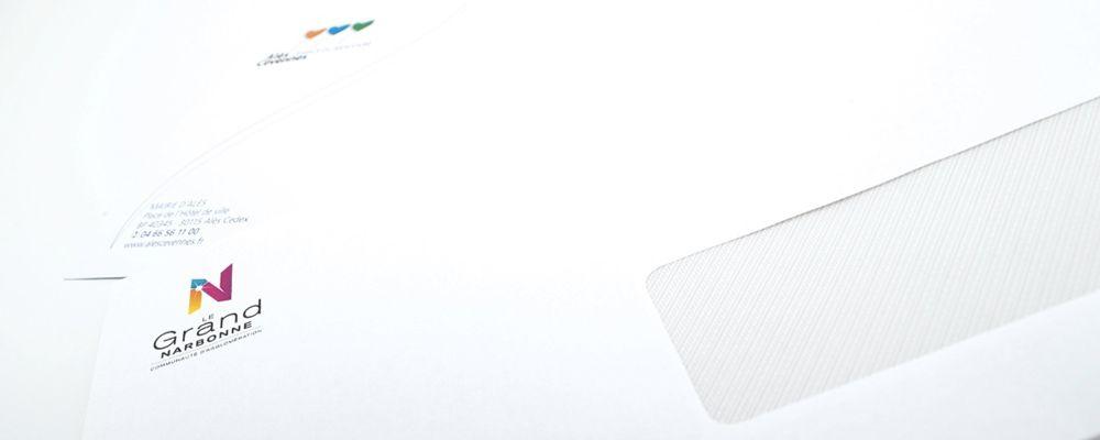 Enveloppes imprimées 110*220